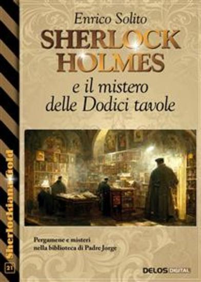 Sherlock Holmes e il mistero delle Dodici tavole - cover