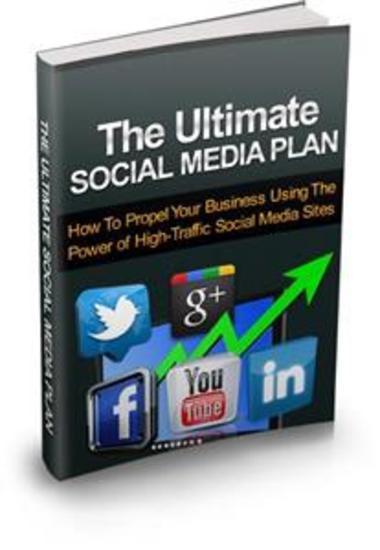 The Ultimate Social Media Plan - cover