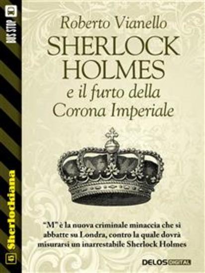 Sherlock Holmes e il furto della Corona Imperiale - cover