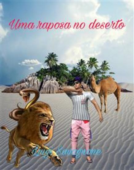 Uma Raposa no Deserto - cover