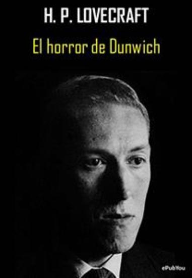 El horror de Dunwich - cover