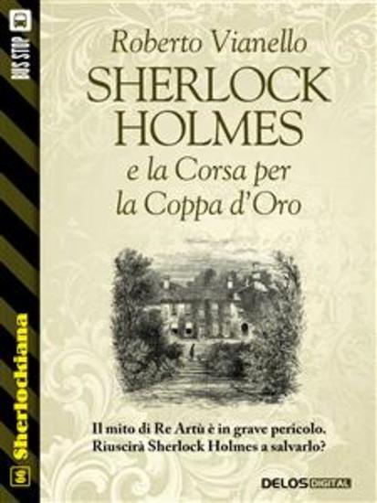 Sherlock Holmes e la Corsa per la Coppa d'Oro - cover