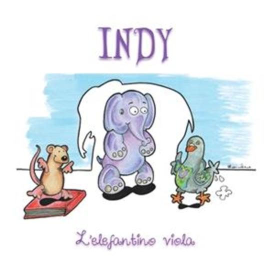 Indy - l'elefante viola - cover