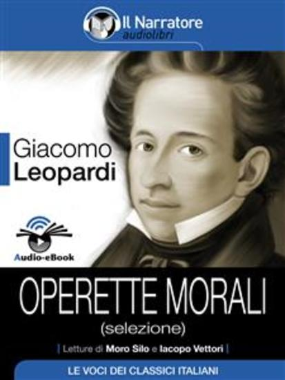 Operette morali (selezione) (Audio-eBook) - cover