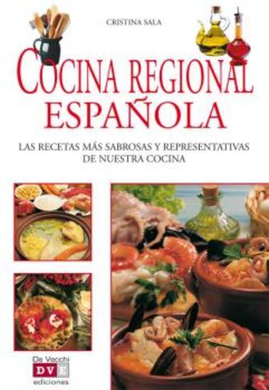Cocina regional española - cover