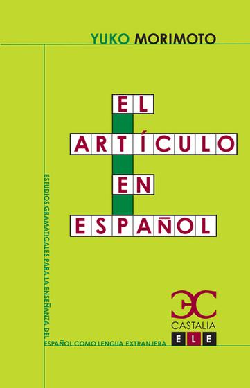El artículo en español - cover