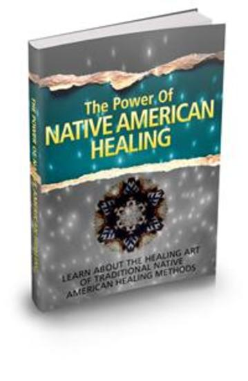 The Power of Native American Healing - cover