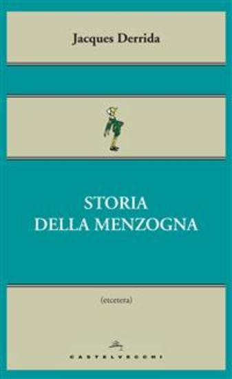 Storia della menzogna - cover