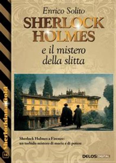 Sherlock Holmes e il mistero della slitta - cover