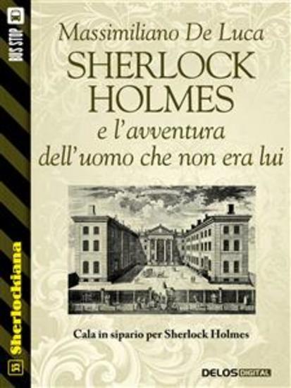 Sherlock Holmes e l'avventura dell'uomo che non era lui - cover