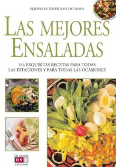 Las mejores ensaladas - cover