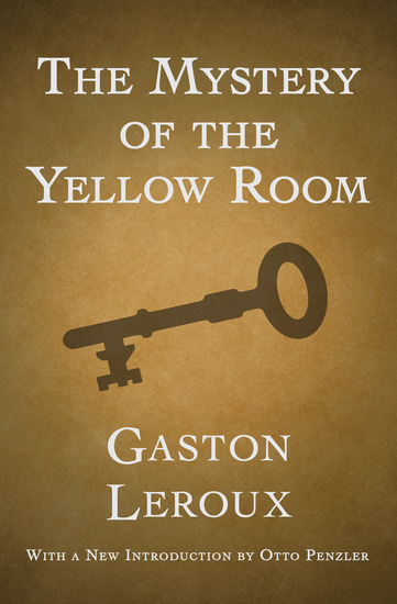 The Mystery of the Yellow Room - cover