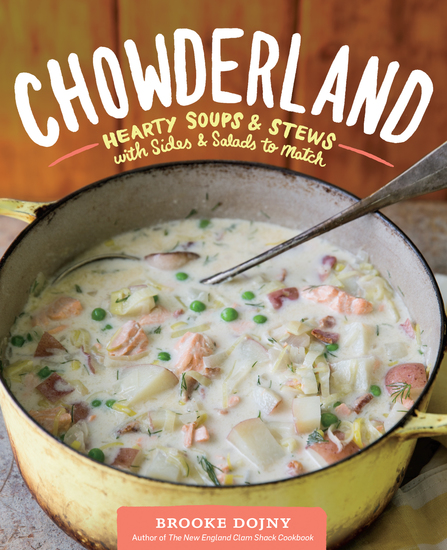 Chowderland - Hearty Soups & Stews with Sides & Salads to Match - cover