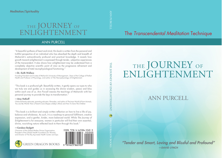 The Transcendental Meditation Technique and The Journey of Enlightenment - cover