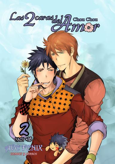 Las 2 caras del amor Nº2 - Manga Yaoi - cover