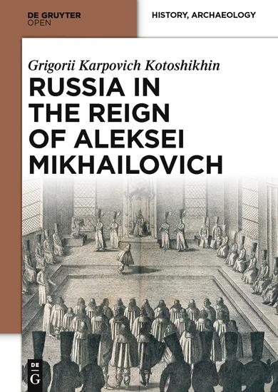 Russia in the Reign of Aleksei Mikhailovich - cover
