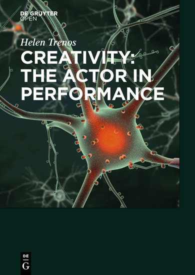 Creativity: the Actor in Performance - cover