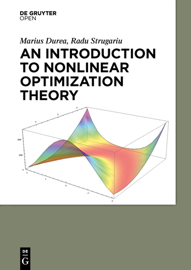 An Introduction to Nonlinear Optimization Theory - cover