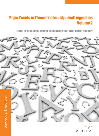 Major Trends in Theoretical and Applied Linguistics 2 - Selected Papers from the 20th ISTAL - cover