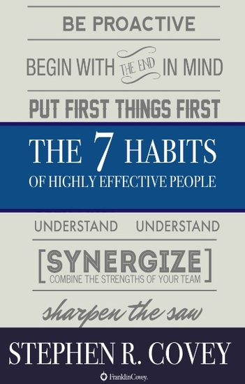The 7 Habits of Highly Effective People - cover