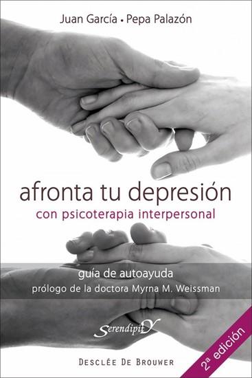 Afronta tu depresión con terapia interpersonal - Guía de autoayuda - cover