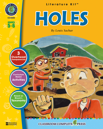 Holes (Louis Sachar) - cover