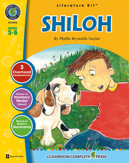 Shiloh (Phyllis Reynolds Naylor) - cover