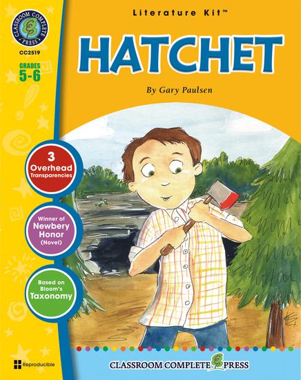 Hatchet (Gary Paulsen) - cover