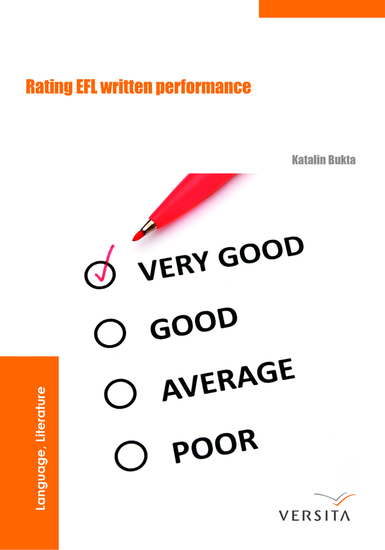Rating EFL Written Performance - cover
