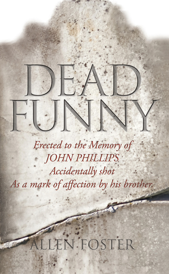 Dead Funny – The Little Book of Irish Grave Humour - Curious Irish Gravestone Inscriptions - cover