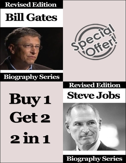 Bill Gates and Steve Jobs - Biography Series - cover