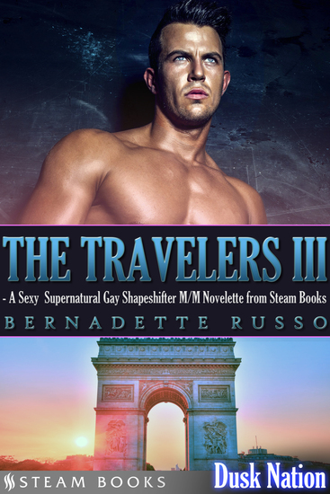 The Travelers III - A Sexy Supernatural Gay Shapeshifter M M Novelette from Steam Books - cover