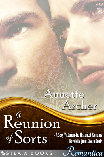 A Reunion of Sorts - A Sexy Victorian-Era Historical Romance Novelette from Steam Books - cover