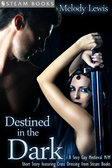 Destined in the Dark - Historical Cross-Dressing Medieval M M Erotica from Steam Books - cover