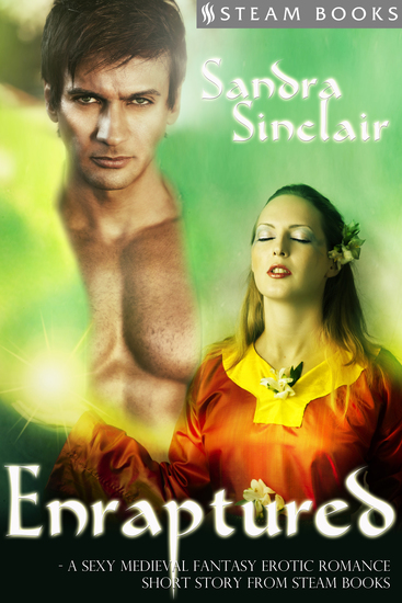Enraptured - A Sexy Medieval Fantasy Erotic Romance Short Story from Steam Books - cover
