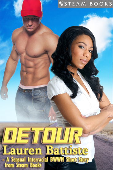 Detour - Sexy Interracial BWWM Erotic Romance Short Story from Steam Books - cover