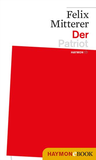 Der Patriot - Ein-Mann-Stück - cover