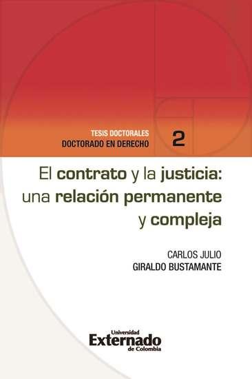 El contrato y la justicia: una relación permanente y compleja - cover