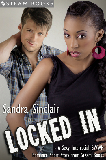 Locked In - A Sexy Interracial BWWM Romance Short Story from Steam Books - cover