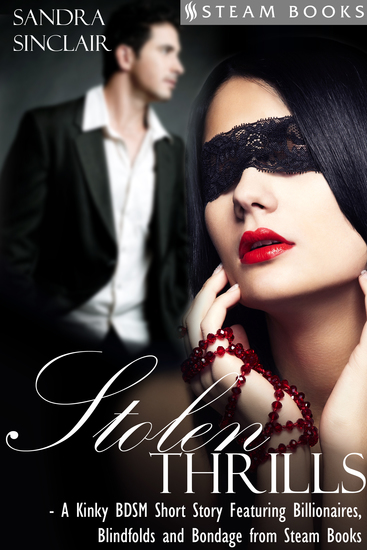 Stolen Thrills - A Kinky BDSM Short Story Featuring Billionaires and Bondage from Steam Books - cover
