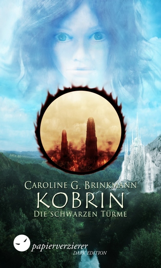 Kobrin - Die schwarzen Türme - Jugendroman Fantasy - cover