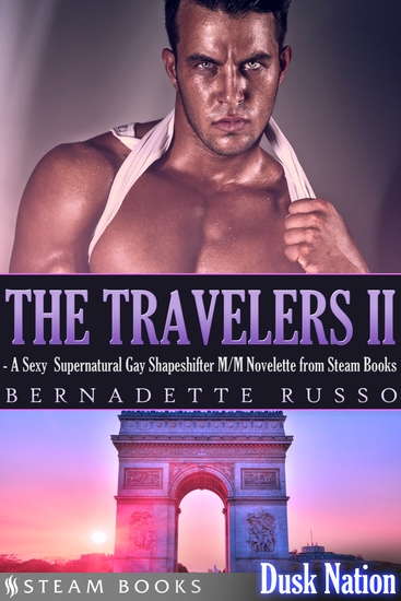 The Travelers II - A Sexy Supernatural Gay Shapeshifter M M Novelette from Steam Books - cover