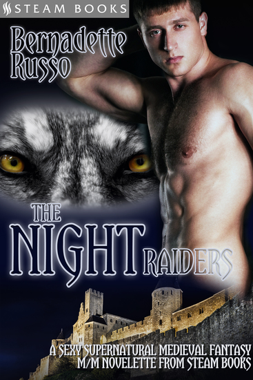 The Night Raiders - A Sexy Supernatural Medieval Fantasy M M Novelette From Steam Books - cover