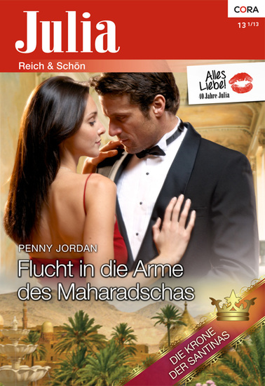 Flucht in die Arme des Maharadschas - cover