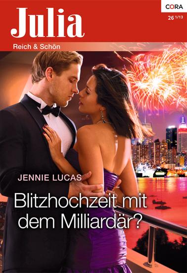Blitzhochzeit mit dem Milliardär - cover