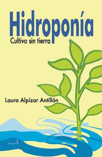 Hidroponía Cultivo sin tierra - cover