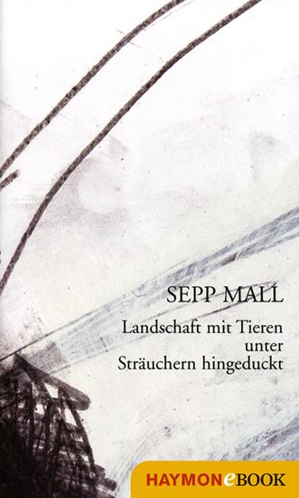 Landschaft mit Tieren unter Sträuchern hingeduckt - Gedichte - cover