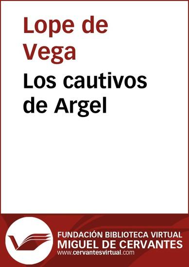 Los cautivos de Argel - cover