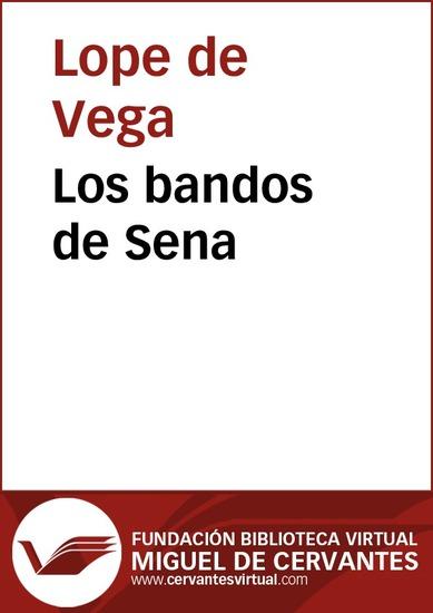 Los bandos de Sena - cover