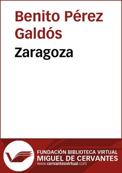 Zaragoza - cover